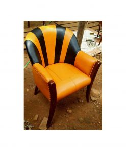 Cow leather chair